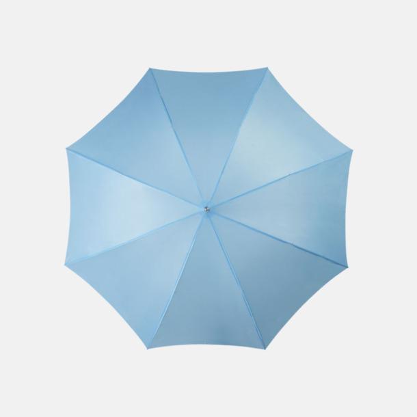 Process Blue Automatiskt paraply i flera färger med eget reklamtryck