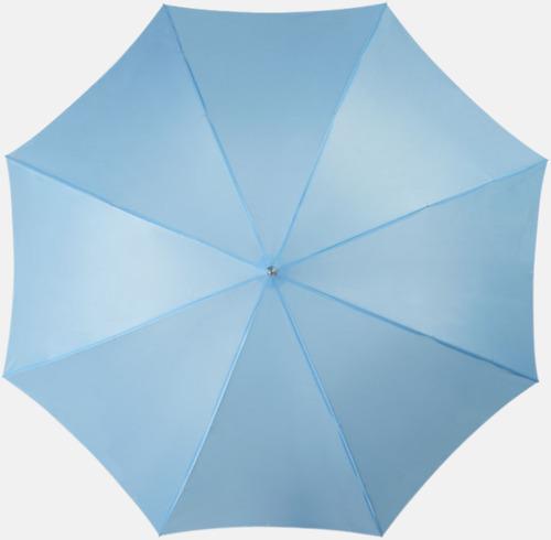Blå Automatiskt paraply i flera färger med eget reklamtryck