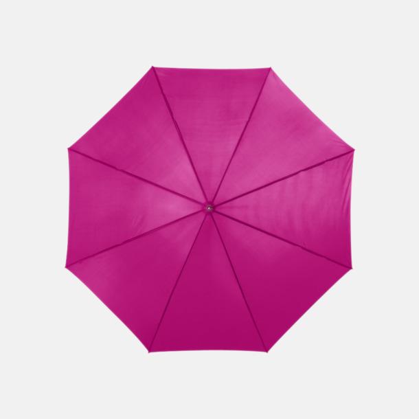 Magenta Automatiskt paraply i flera färger med eget reklamtryck