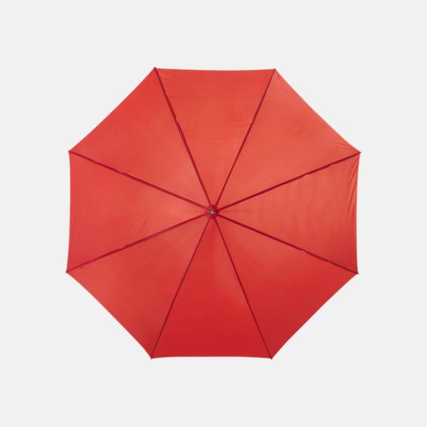 Röd Automatiskt paraply i flera färger med eget reklamtryck