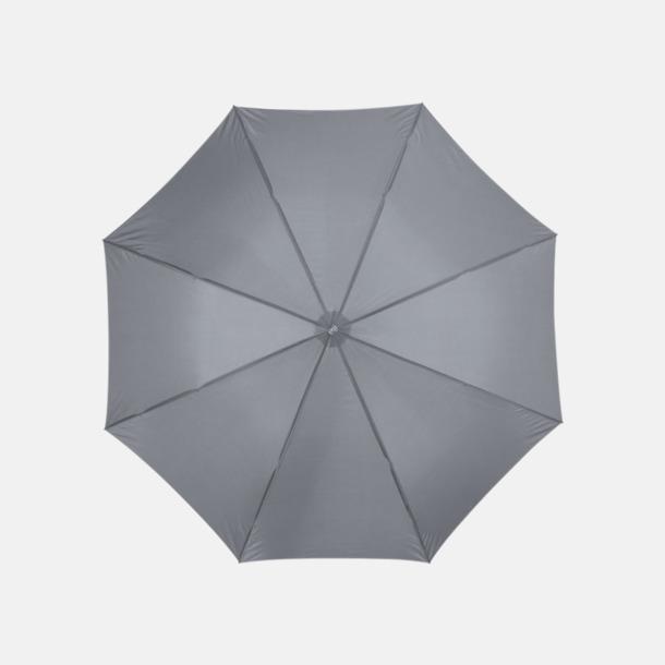 Grå Automatiskt paraply i flera färger med eget reklamtryck