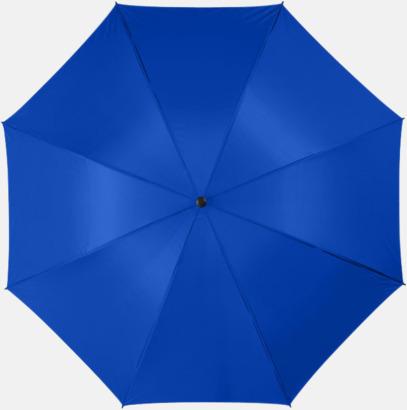 "Kungsblå 30""-stormparaplyer med reklamtryck"