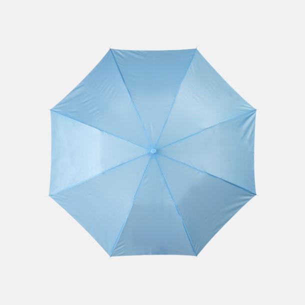 Process Blue Kompakt paraply med eget reklamtryck