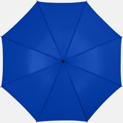 Kungsblå Stora, automatiska paraplyer med reklamtryck