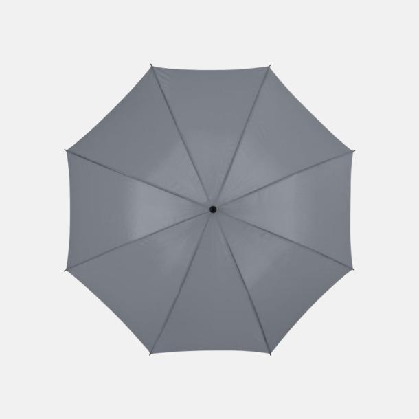 Grå Stora, automatiska paraplyer med reklamtryck