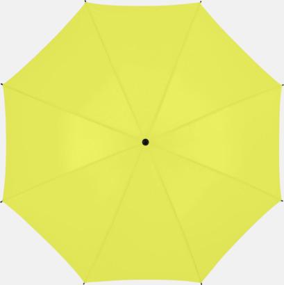 Äppelgrön Stort golfparaply med eget reklamreyck