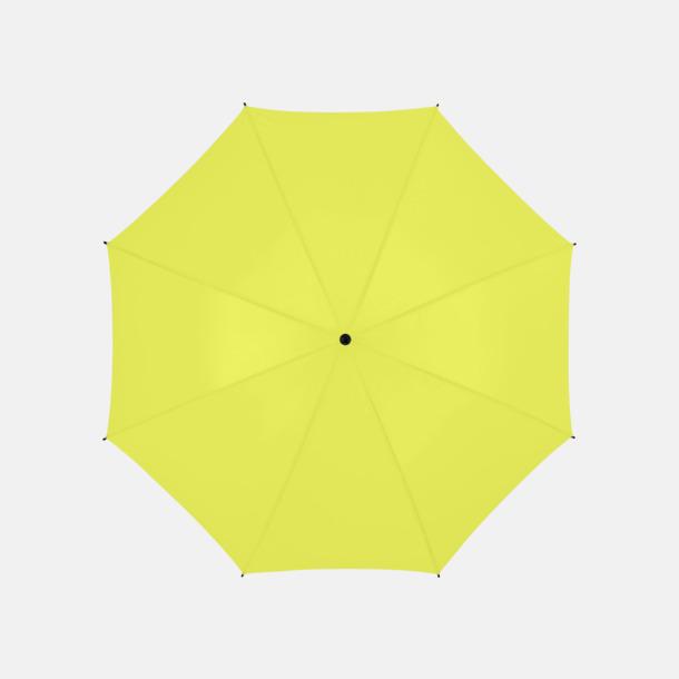 Neongrön Stort golfparaply med eget reklamreyck