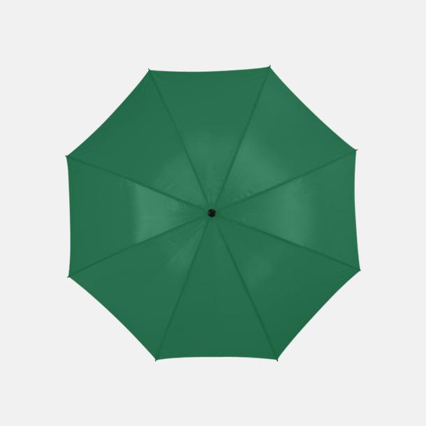 Grön Stort golfparaply med eget reklamreyck
