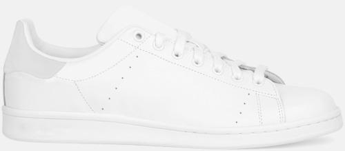 Vit Tennis Sneakers med egen logga