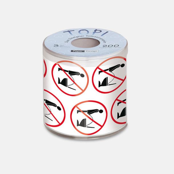 Toalettpapper med eget reklamtryck
