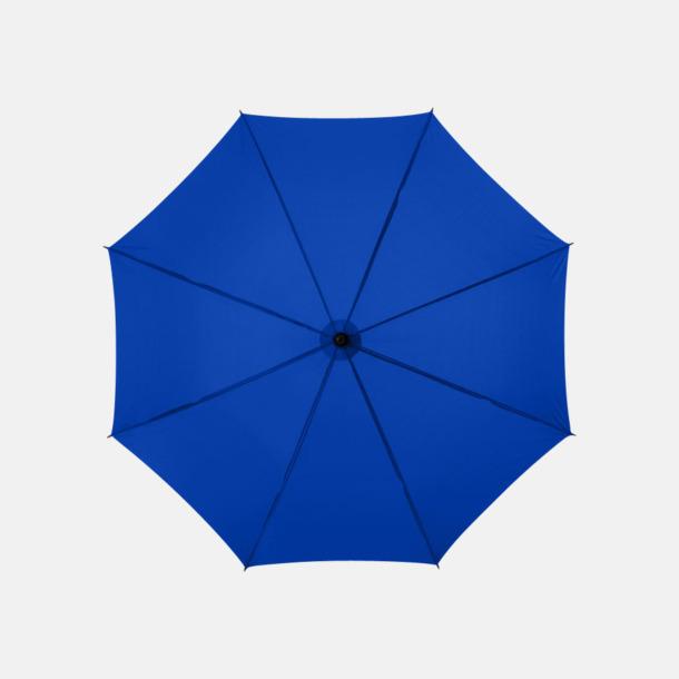 Royal Klassiskt paraply med träskaft med eget rekalmtryck