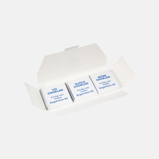 3-pack (se tillval) Chokladbitar med Expressleverans