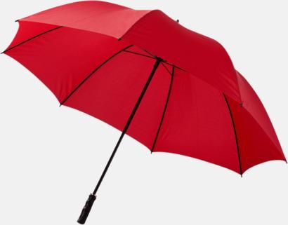 Stort golfparaply med eget reklamreyck
