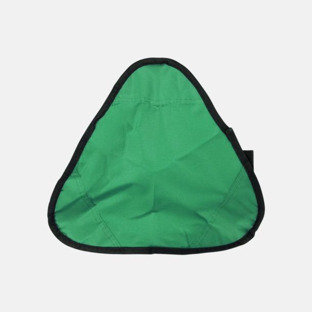 Grön / Svart Vikbara pallar med reklamtryck