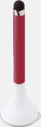 Röd Touchpenna, bläckpenna och skärmrengörare med reklamtryck
