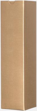 Guld (för 1) Papperskartonger i flera storlekar - med reklamtryck
