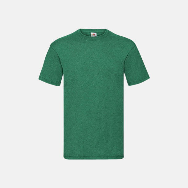 Retro Heather Green Valueweight t-shirt med tryck