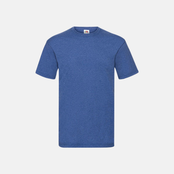 Retro Heather Blue Valueweight t-shirt med tryck
