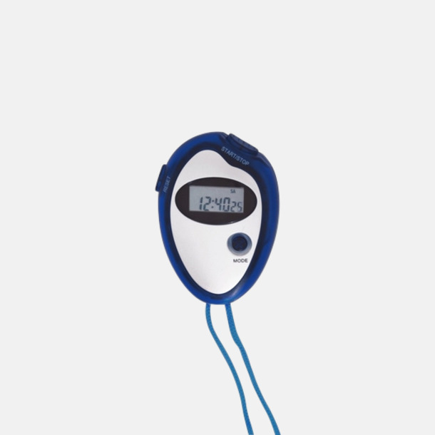 Blå Billiga stoppur med reklamtryck