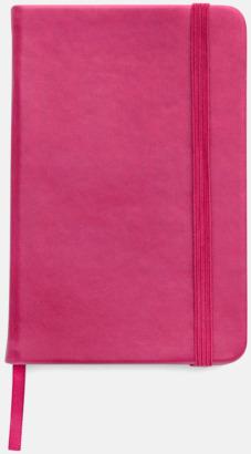 Rosa Färgrika A6-anteckningsböcker med tryck