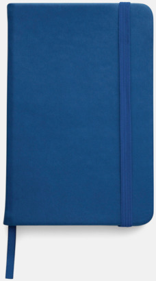 Marinblå Färgrika A6-anteckningsböcker med tryck
