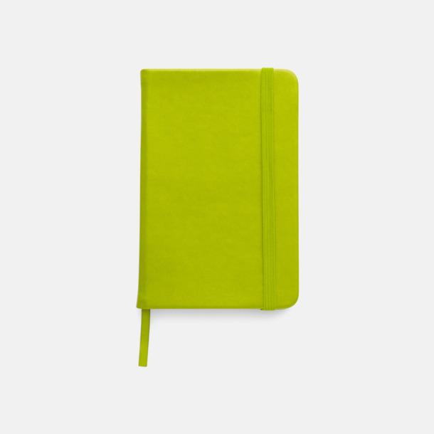 Ljusgrön Färgrika A6-anteckningsböcker med tryck