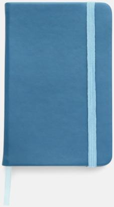 Blå Färgrika A6-anteckningsböcker med tryck