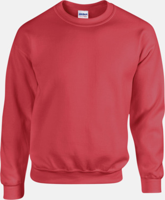 Antique Cherry Red Tröjor i många färger från Gildan med reklamtryck