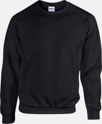 Svart Tröjor i många färger från Gildan med reklamtryck