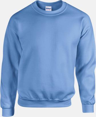 Carolina Blue Tröjor i många färger från Gildan med reklamtryck
