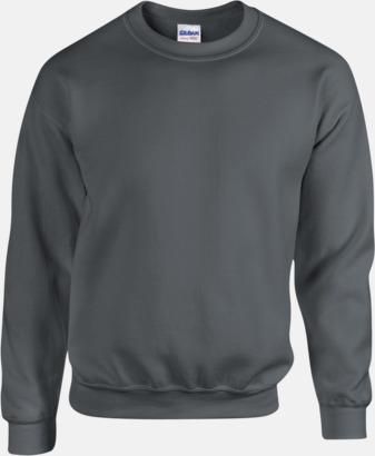 Charcoal Tröjor i många färger från Gildan med reklamtryck