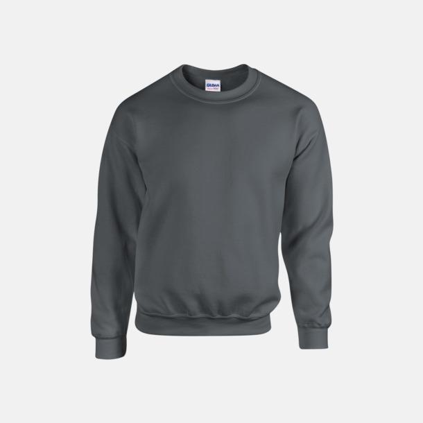 Charcoal (herr) Tröjor i många färger från Gildan med reklamtryck