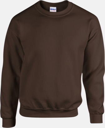 Dark Chocolate Tröjor i många färger från Gildan med reklamtryck
