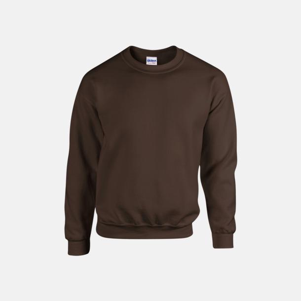 Dark Chocolate (herr) Tröjor i många färger från Gildan med reklamtryck