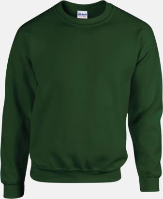 Forest Green Tröjor i många färger från Gildan med reklamtryck