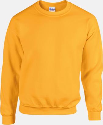 Gold Tröjor i många färger från Gildan med reklamtryck