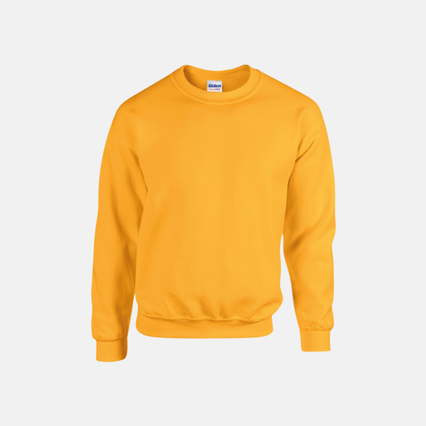 Gold (herr) Tröjor i många färger från Gildan med reklamtryck