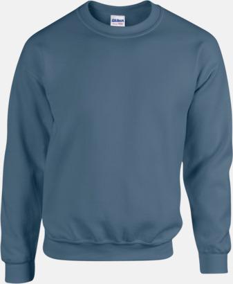 Indigo Blue Tröjor i många färger från Gildan med reklamtryck