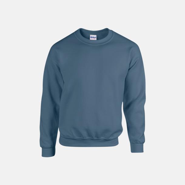 Indigo Blue (herr) Tröjor i många färger från Gildan med reklamtryck