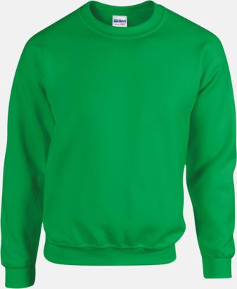 Irish Green Tröjor i många färger från Gildan med reklamtryck