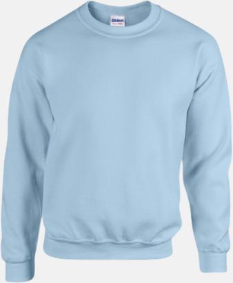 Ljusblå Tröjor i många färger från Gildan med reklamtryck
