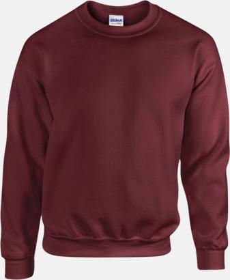 Maroon Tröjor i många färger från Gildan med reklamtryck