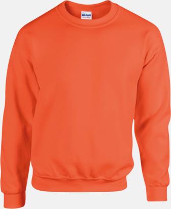 Orange Tröjor i många färger från Gildan med reklamtryck
