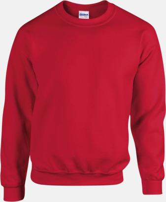 Röd Tröjor i många färger från Gildan med reklamtryck