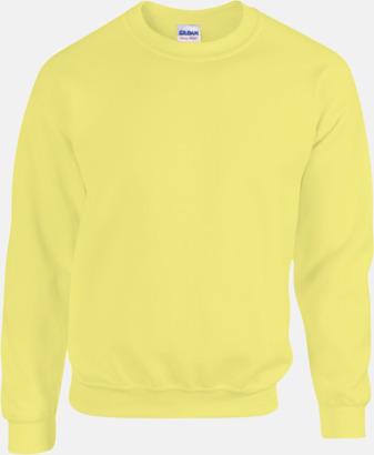 Safety Green Tröjor i många färger från Gildan med reklamtryck