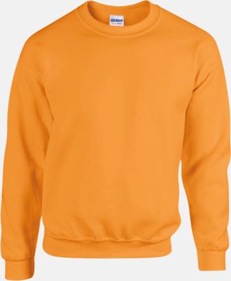 Safety Orange Tröjor i många färger från Gildan med reklamtryck