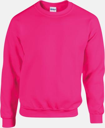 Safety Pink Tröjor i många färger från Gildan med reklamtryck