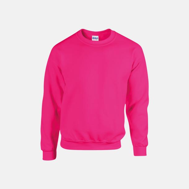 Safety Pink (herr) Tröjor i många färger från Gildan med reklamtryck