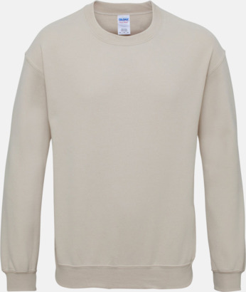 Sand Tröjor i många färger från Gildan med reklamtryck