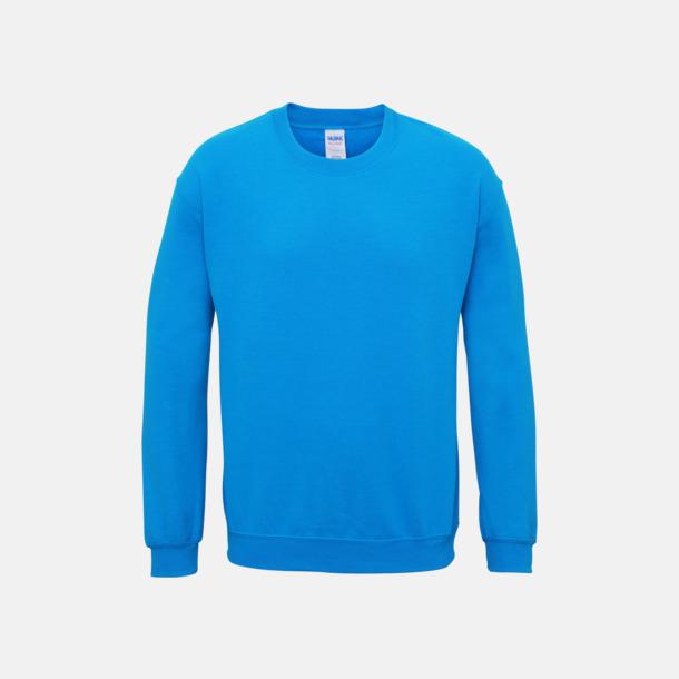 Sapphire (herr) Tröjor i många färger från Gildan med reklamtryck
